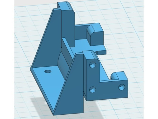 King / Grand Hauler Font Holder 3D Print 146809