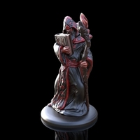 Small Arcane Wizard miniature 3D Printing 146853