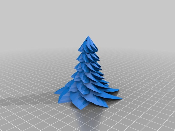 Christmas Tree hanging 3D Print 14689