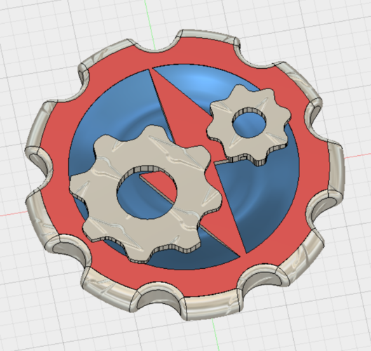 Volt Mechanics Maker coin 3D Print 146930