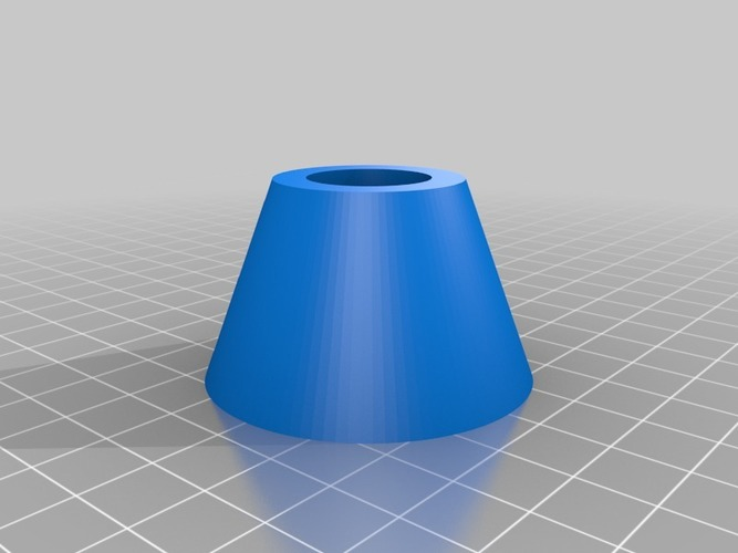 LED Candle holder no rings 3D Print 14699