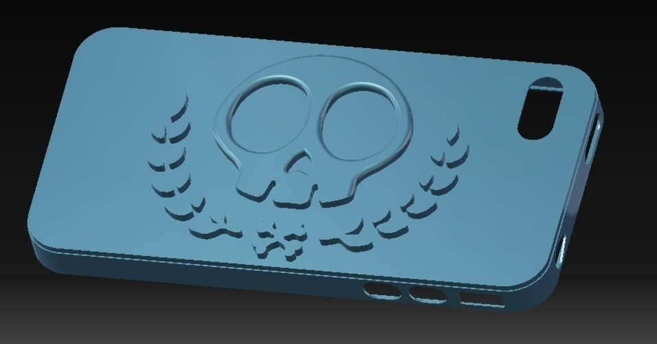 iPhone 4S Skull Case vol.2 3D Print 147020