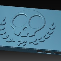 Small iPhone 4S Skull Case vol.2 3D Printing 147020