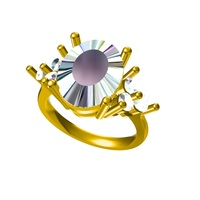 Small Womens Wedding Ring  3D  CAD Model In STL Format 3D Printing 147025