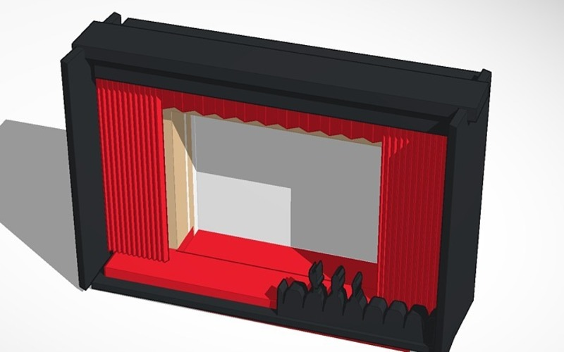 mystery science theater for iphone version 2 3D Print 14709