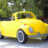 Small beetle cabriolet 3D Printing 147143