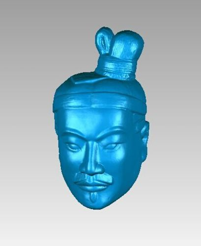 Terra-Cotta Warriors HEAD 3D Print 14716
