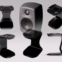 Small Genelec stand 3D Printing 147169