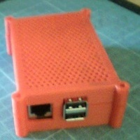Small one more Raspberry Pi case.  3D Printing 147197