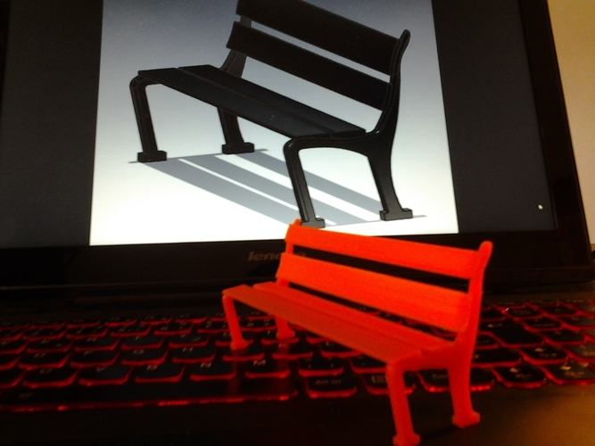Bench for a seat 3D Print 147209