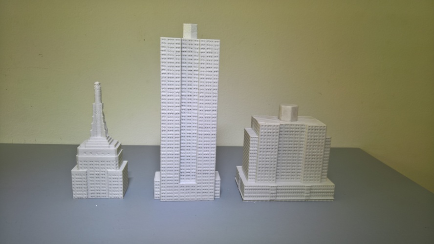Empire State Building (400 mm) 3D Print 147212
