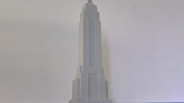 Medium Empire State Building (400 mm) 3D Printing 147218
