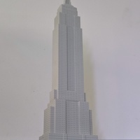 Small Empire State Building (400 mm) 3D Printing 147218