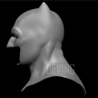 Small Batman cowl-Bvs 3D Printing 147233
