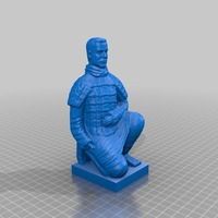 Small Terra-Cotta Warriors 3D Printing 14724
