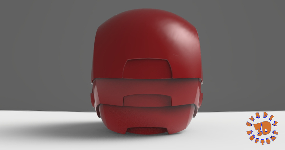 Iron Man Helmet (High Res) 3D Print 147278