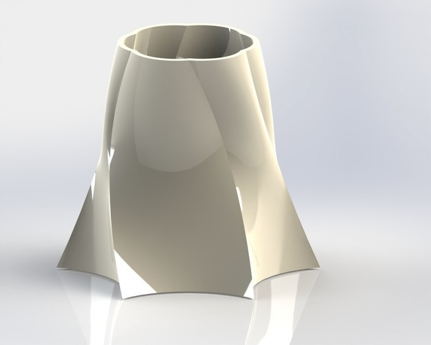 Vase out of shape 3D Print 147424