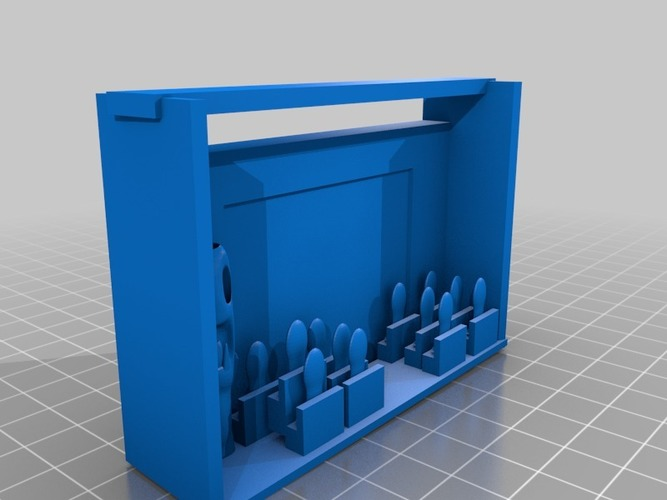 down in front iphone movie theater monster movie maration 3D Print 14754