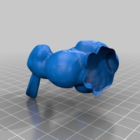 Small  autodesk mesh maker bunny stl for making things with bunnies 3D Printing 14761