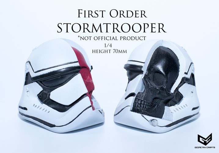 First Order Storm Trooper Skull 3D Print 147687