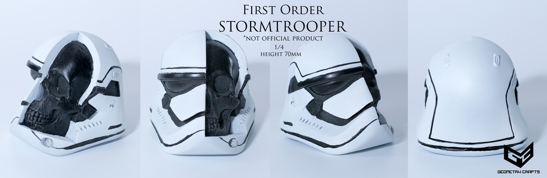 First Order Storm Trooper Skull 3D Print 147690