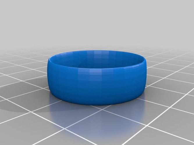 plain ring size 11 3D Print 14771