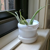 Small windowsill planter 3D Printing 147726