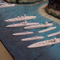 Small Battle of Guadalcanal Japanese Navy and US Navy 3D Printing 147754