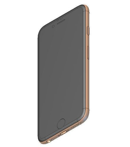 iPhone 6 Accurate Solid Model  3D Print 147755