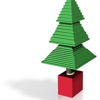 Small chrisy tree 3D Printing 14778