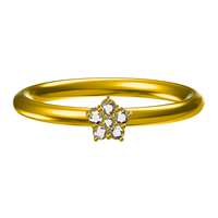 Small Free 3D CAD Model For Wedding RIng In STL Format 3D Printing 147807
