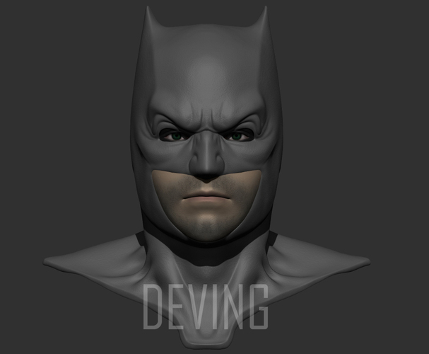 Batman justice league cowl v1.2 3D Print 147821