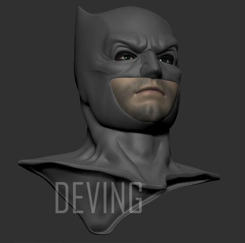 Batman justice league cowl v1.2 3D Print 147823
