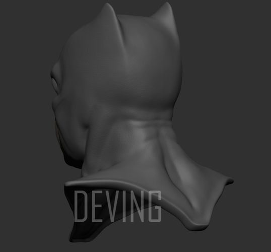 Batman justice league cowl v1.2 3D Print 147824