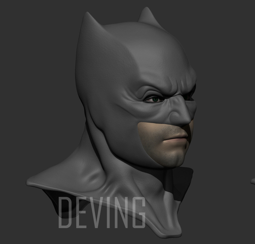 Batman justice league cowl v1.2 3D Print 147825