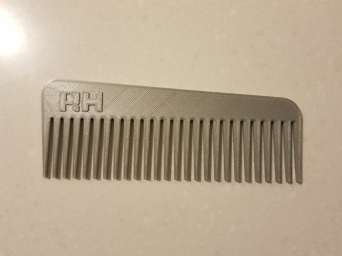 Man/ woman / Horse Hair Comb 3D Print 147923
