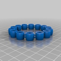 Small My Customized Comfortable, flexy, jingly bracelet (1) (1) 3D Printing 14796