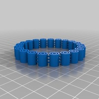Small My Customized Flexy Jingly Bracelet 3D Printing 14797