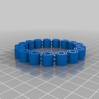 Small My Customized Flexy Jingly Bracelet (1) 3D Printing 14798