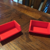 Small Non Stackable Storage Box (Stackable Box Remix) 3D Printing 147992