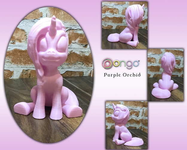 MLP Based Unicorn (Easy Print No Supports ) 3D Print 148015