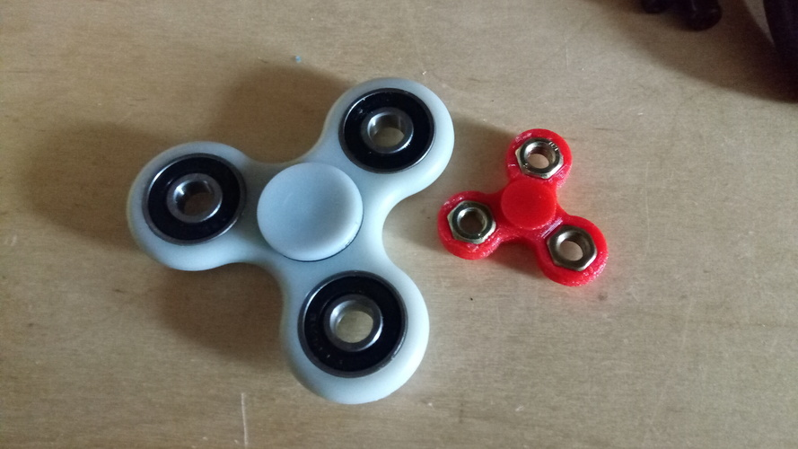Fidget spinner mini 3D Print 148109