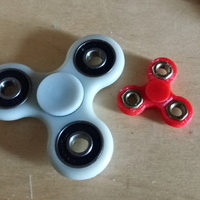 Small Fidget spinner mini 3D Printing 148109