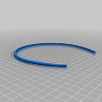 Small My Customized Hair Band (1) 3D Printing 14816