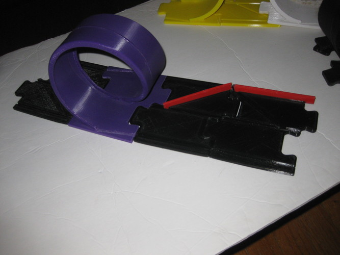 Pitch Car Track-LH 3D Print 148161