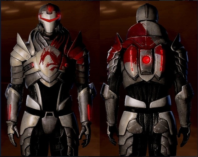 Blood Dragon Helmet Mass Effect 2 3D Print 148175