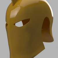 Small Dr Fate Helmet 3D Printing 148185