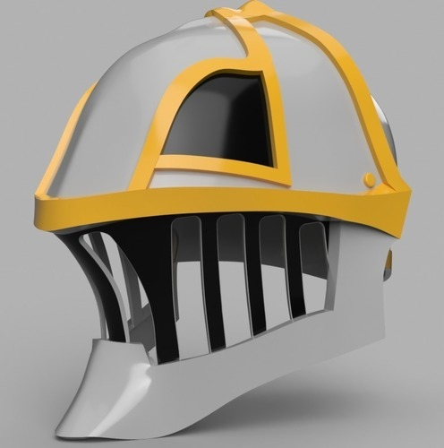 Iron Musketeer's Helmet (Final Fantasy XI) 3D Print 148190