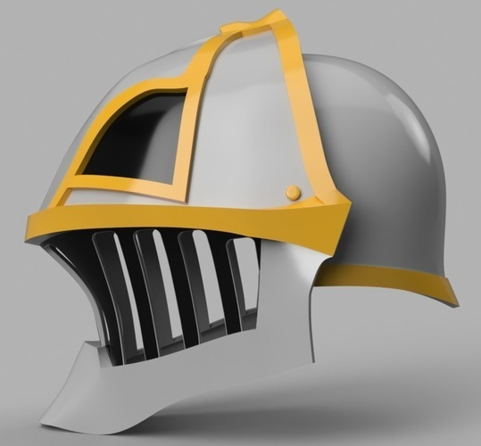Iron Musketeer's Helmet (Final Fantasy XI) 3D Print 148191