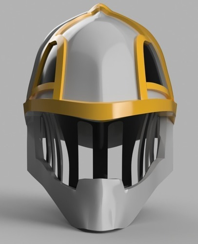 Iron Musketeer's Helmet (Final Fantasy XI) 3D Print 148192